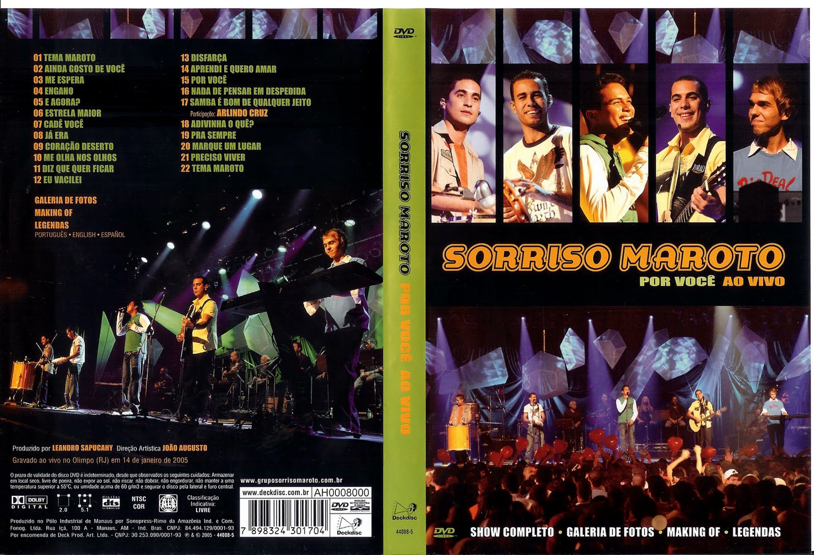 cd sorriso maroto ensaio dvd 2010